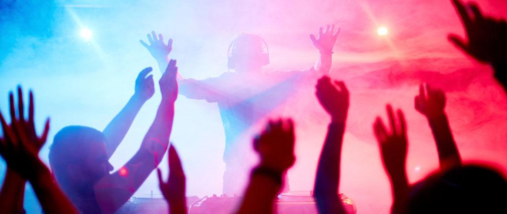 Party DJ Jürgen sorgt für Stimmung