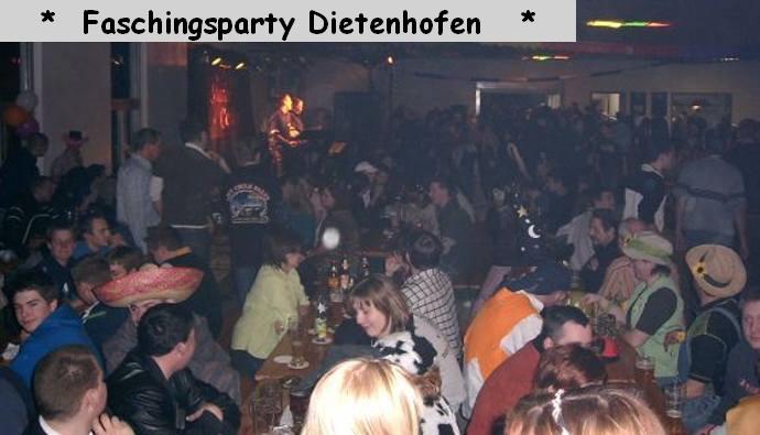 Faschingsparty Dietenhofen mit der Starlet Combo